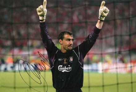 Jerzy Dudek, Liverpool & Poland, signed 12x8 inch photo.